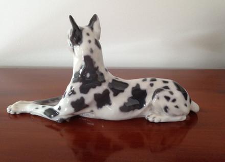 Royal Copenhagen Danish Dog Figurine