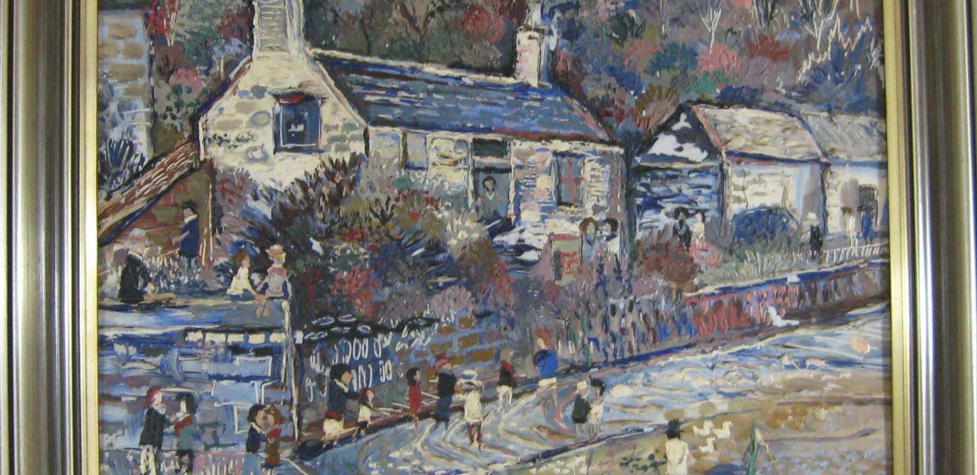 Fred Yates, Cornish Village
