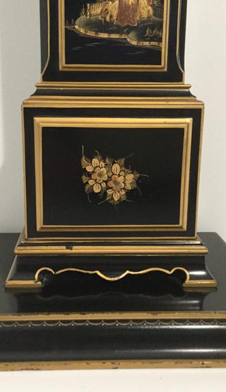 Elliott Chinoiserie Miniature Longcase Clock