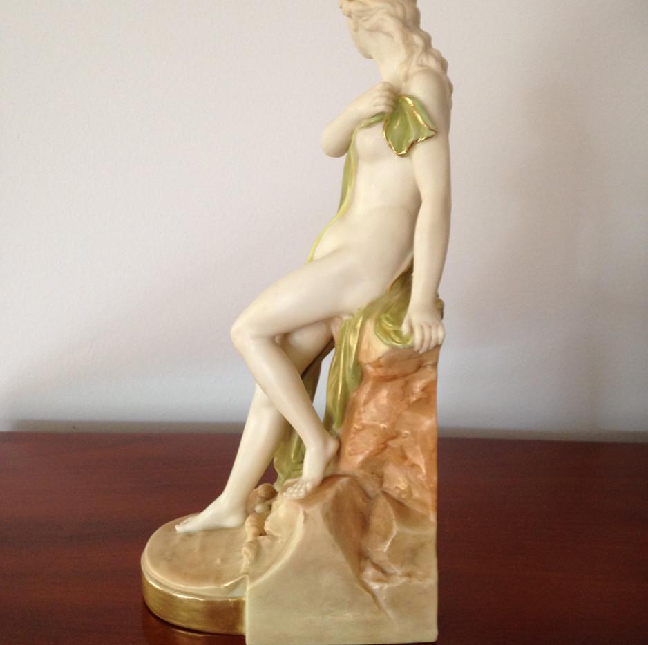 Royal Worcester Isis Figurine Circa 1898