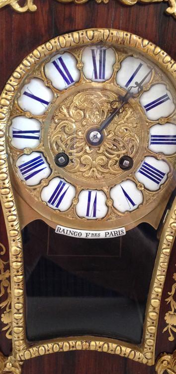Raingo Freres Rosewood Clock