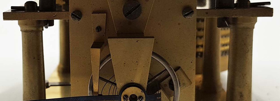 Walsh Jones & Co Oak and Brass Marine Clock