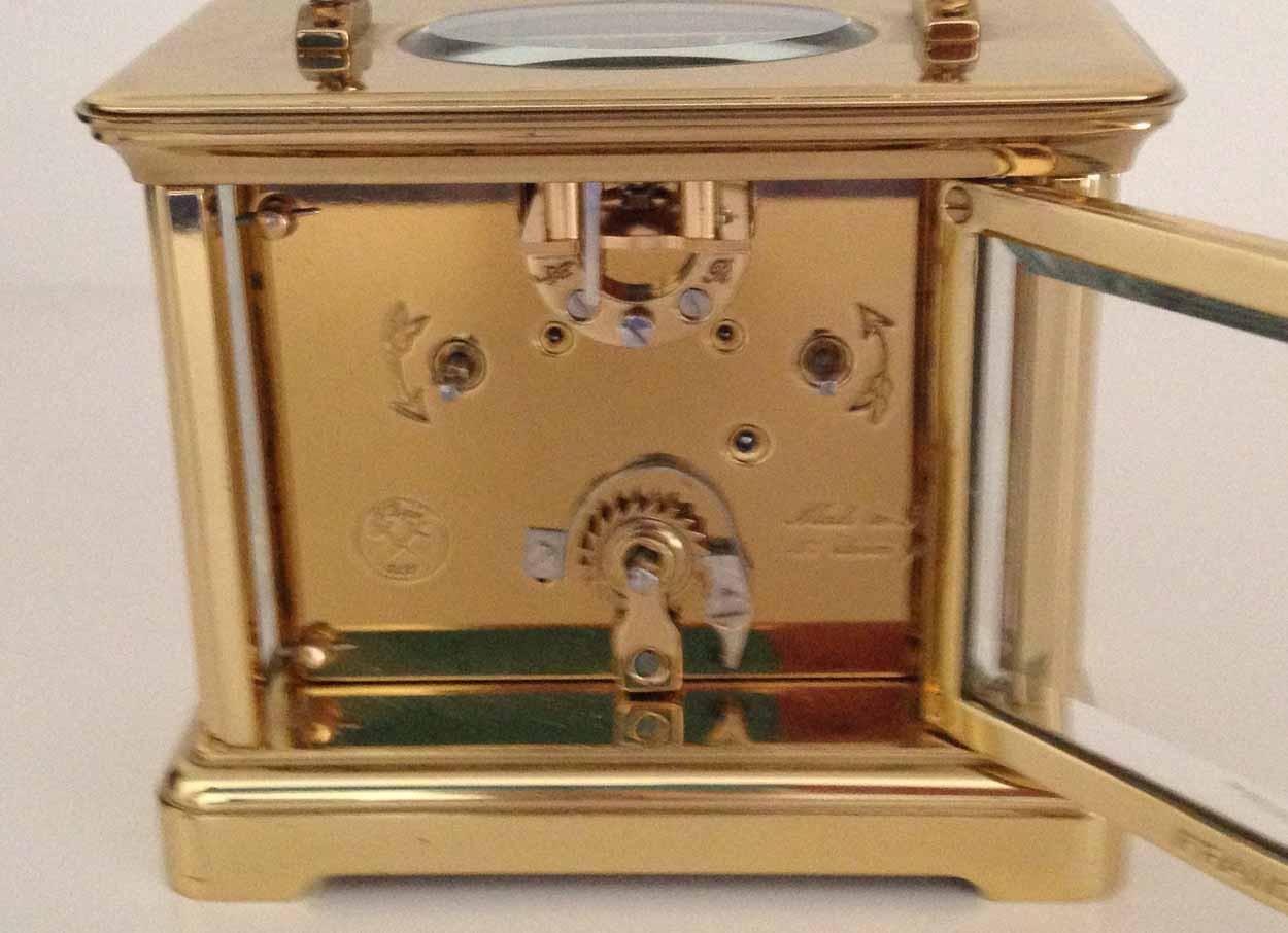 L'Epee Swiss Dual Timezone Clock