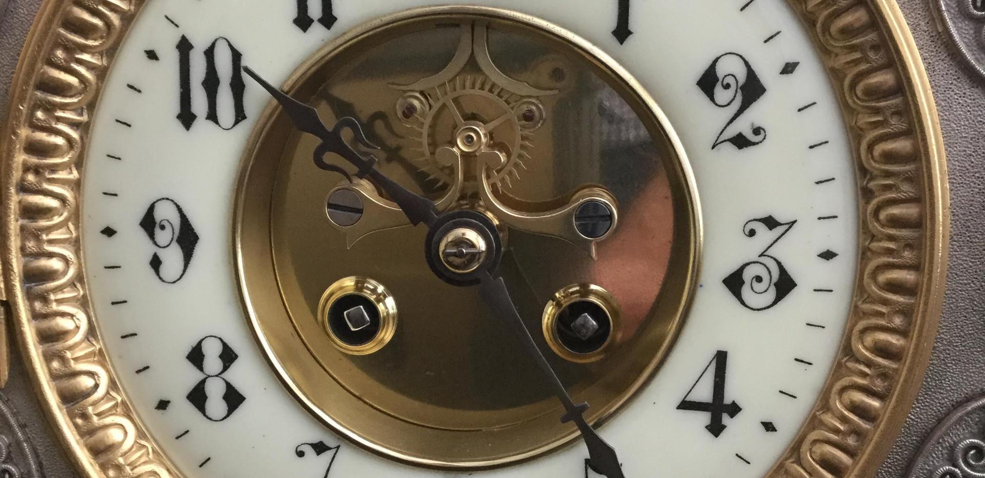 French Gothic Style Clockface