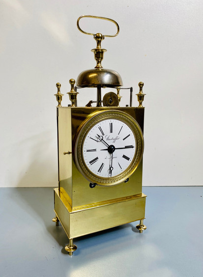French Canpaign Officers Clock