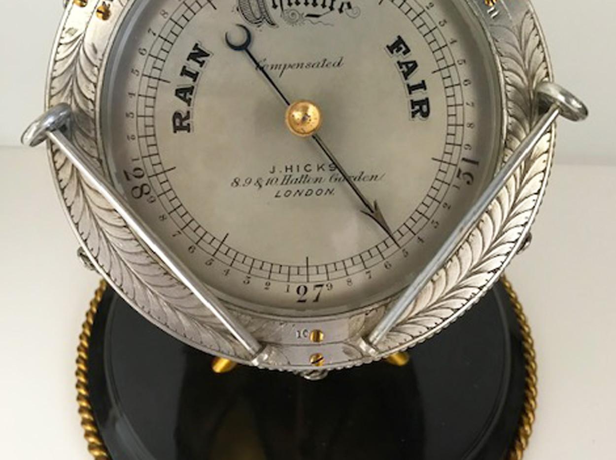 Barometer, JJ Hicks Hatton Garden,