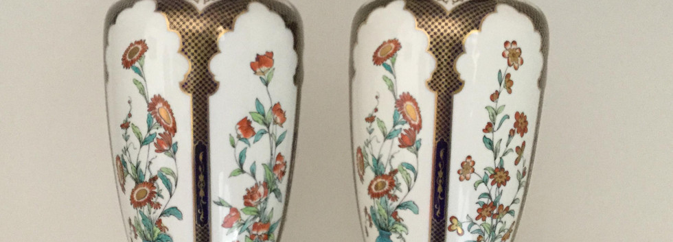Royal Worcester Vases