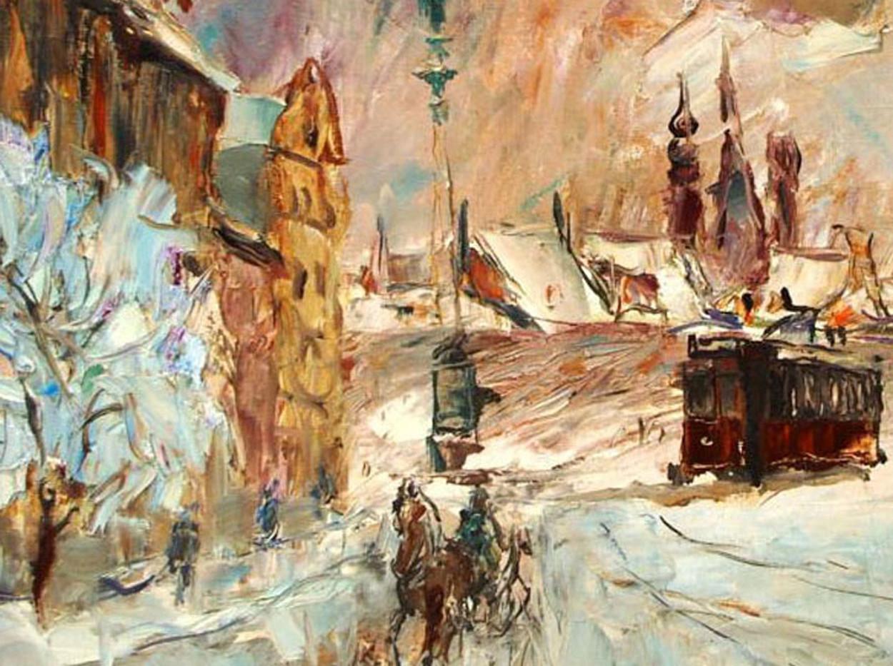 Wociech Kosowski (Polish) Oil on Canvas