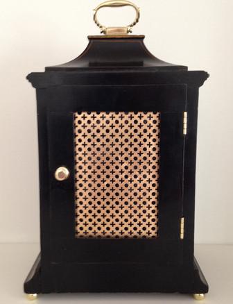 Astralof Coventry Black Chinoiserie Clock
