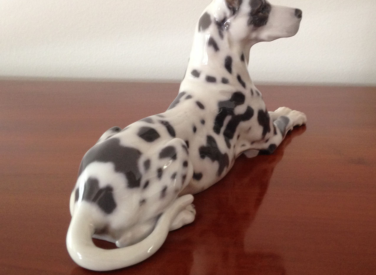 Danish Royal Copenhagen Great Dane Figurine