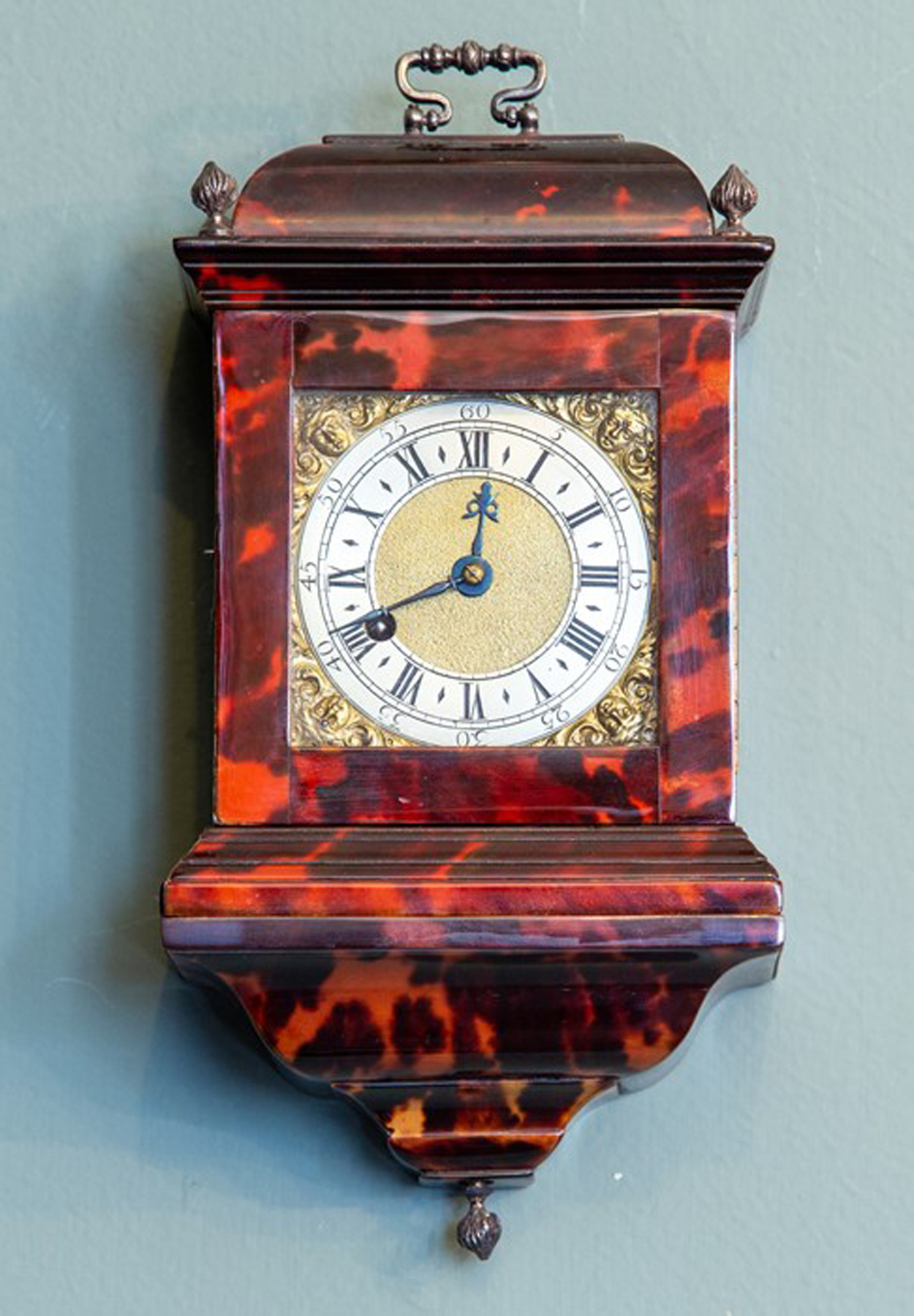 George III Tortoiseshell Travel Clock