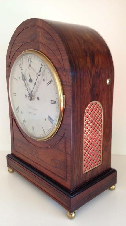 Regency Rosewood Clock Richard Widenham London