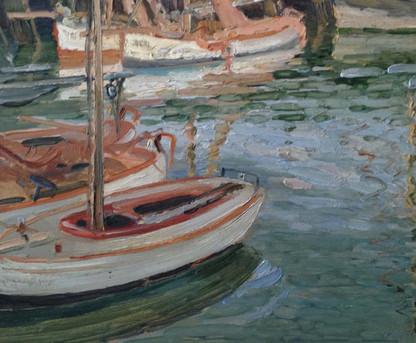 Impressionist Marine Painting