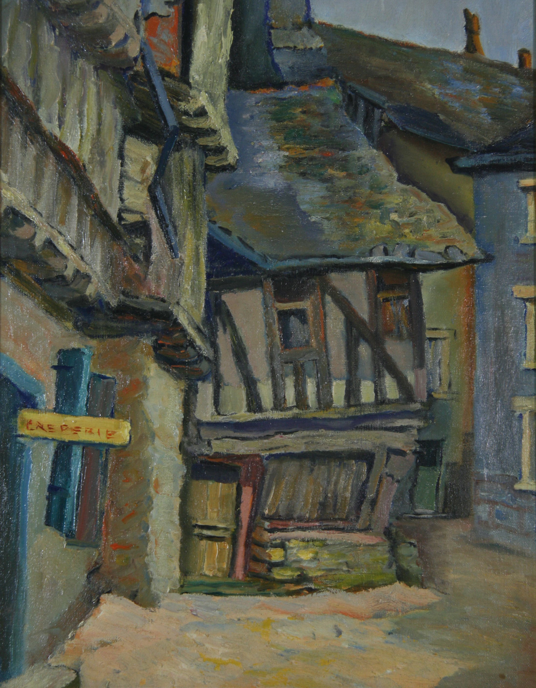 Grant Horne Oil On Canvas
