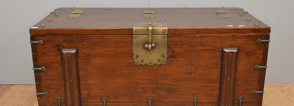 19th Century Japanese Trunk