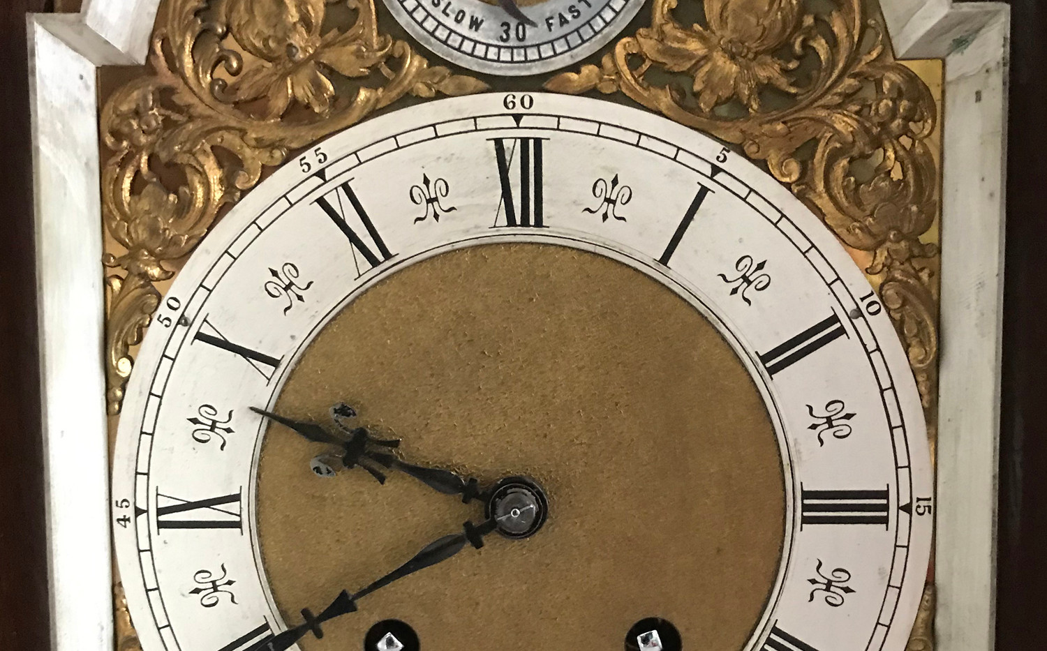 Lenzkirch Walnut Bracket Clock