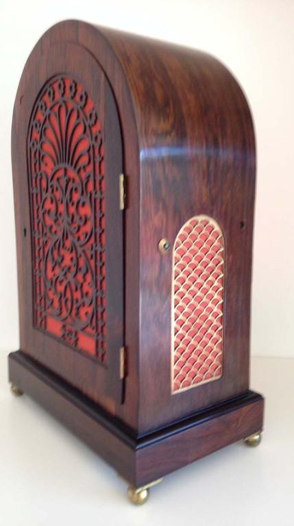 Regancy Rosewood Bracket Clock