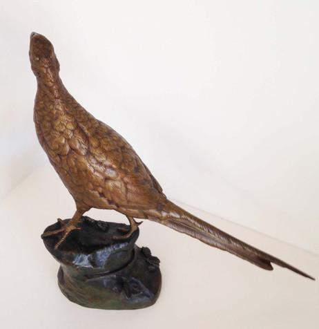 Leon Bureau Pheasant Bronze