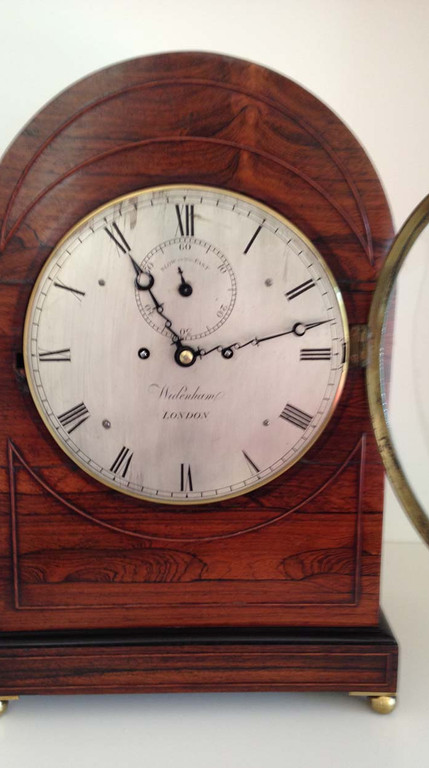 Regency Rosewood Clock