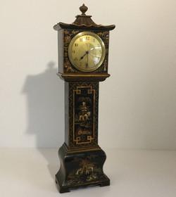 Chinoiserie Miniature Longcase Clock