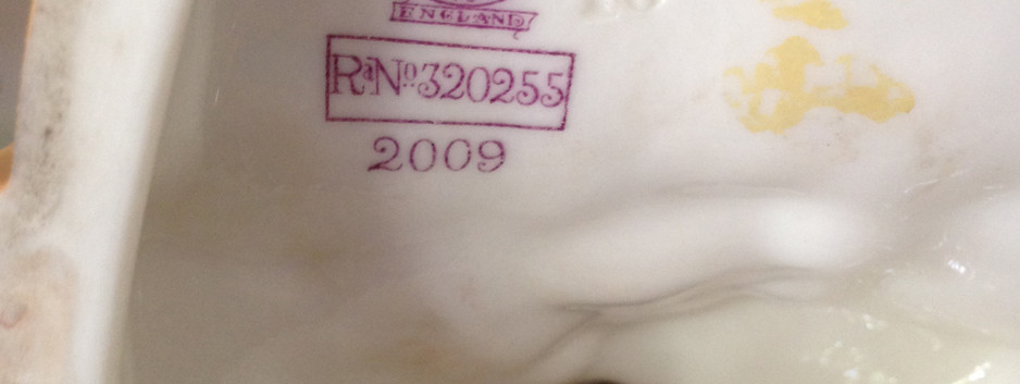 Royal Worcester Isis Factory Marks