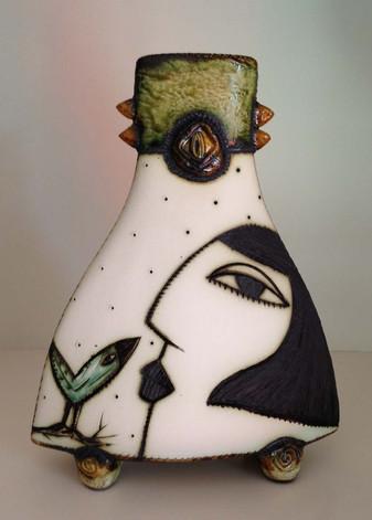 Charmaine Haines Ceramic Vase