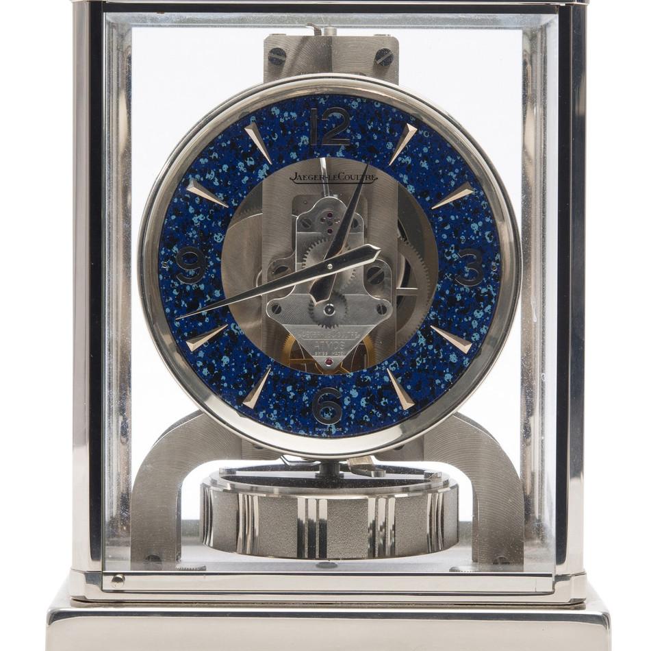 Rare Nickel Plated Atmos Clock