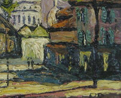Preben Rasmussen Danish Impressionist Artist