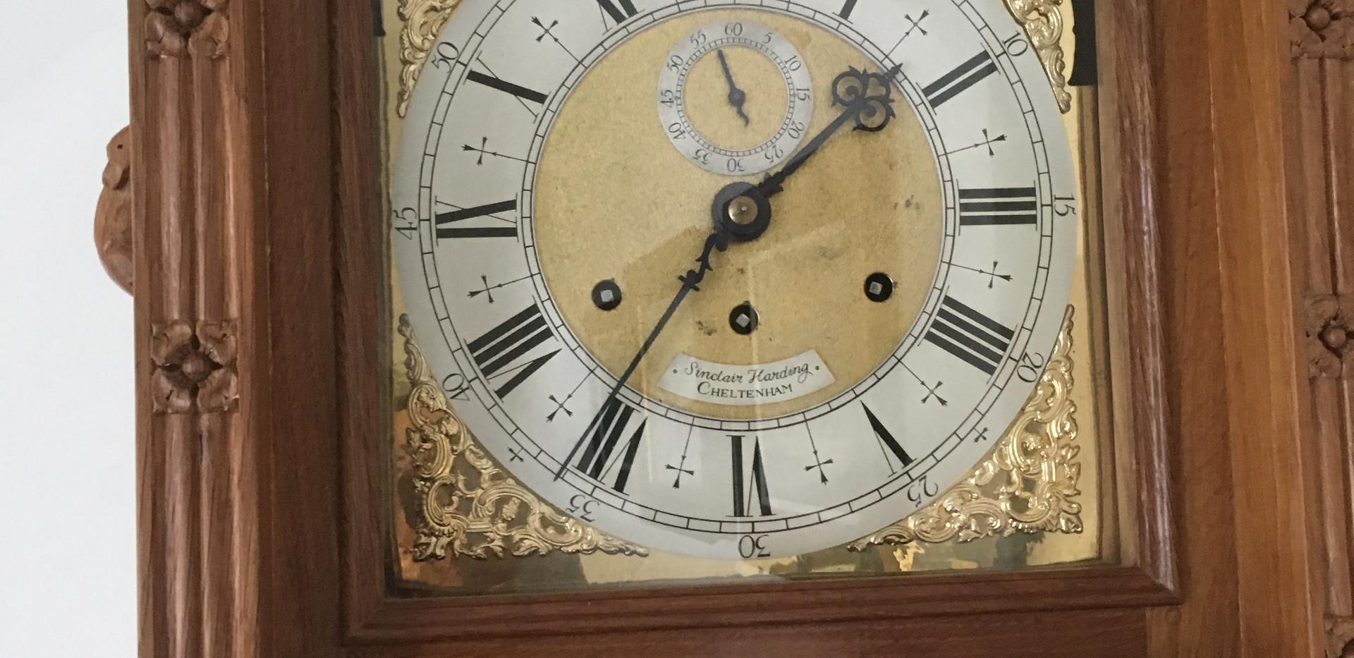 Mouseman Longcase Clock