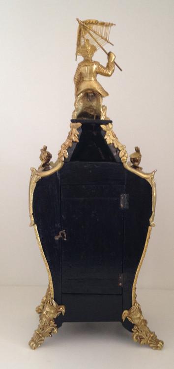 Raingo Freres Rosewood Clock Circa 1860