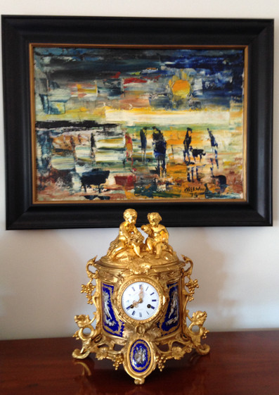 Howell James Louis Philippe Clock