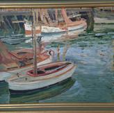 English Impressionist School Oil On Board Circa 1930