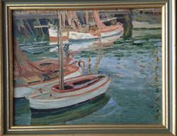 English Impressionist Oil Painting