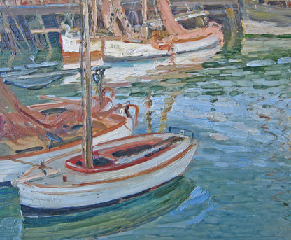 English Impressionist Harbour View