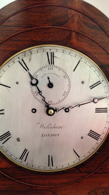 Regency Rosewood Bracket Clock