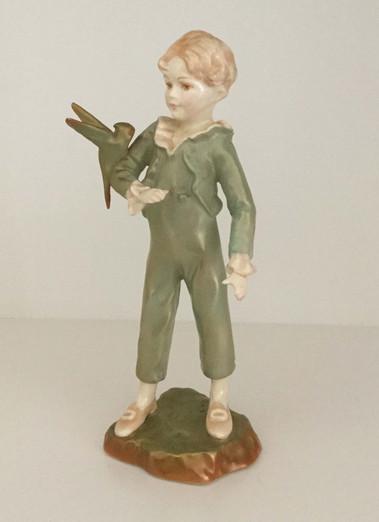 Royal Worcester Parakeet Boy