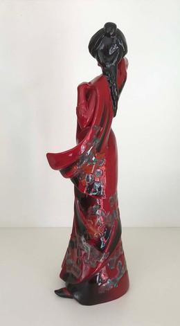 Royal Doulton Flambe Figurine