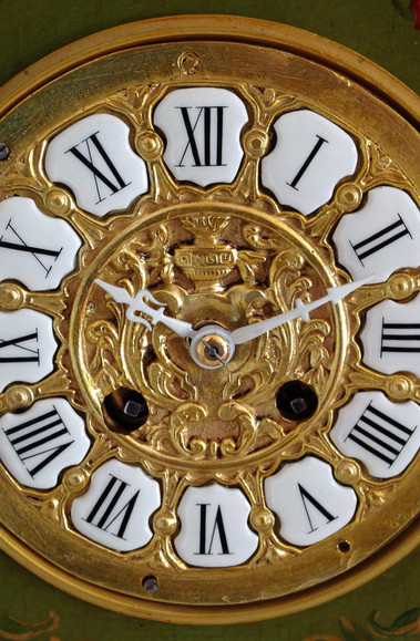 Louis XV Style lock Face Detail