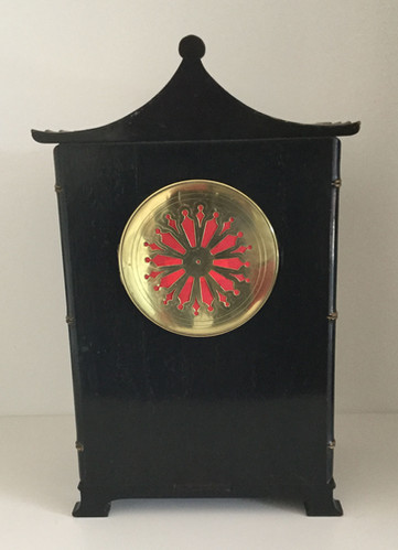 Tiffany Chinoiserie Clock, Verso