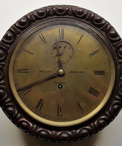 Walsh Jones & Co Marine Wall Clock
