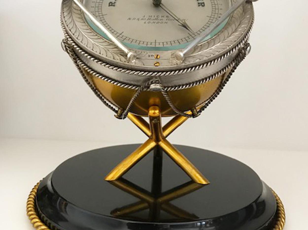JJ Hicks Aneroid Barometer