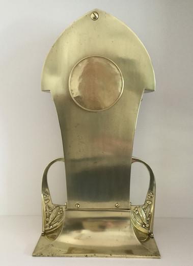Brass and Copper Clock