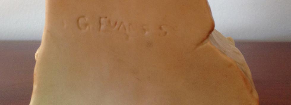 Royal Worcester G Evans Factory Mark