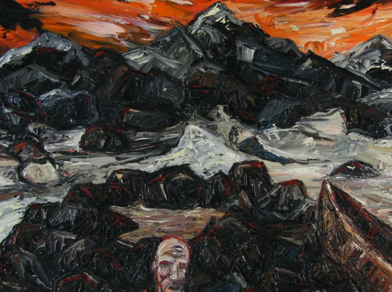 Brent Shegog Impasto Oil On Canvas