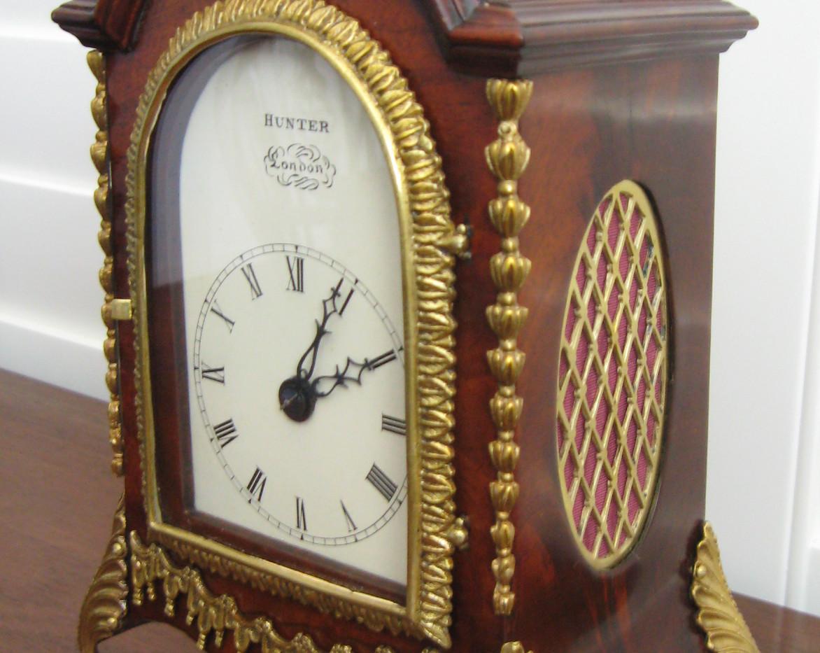 George III Miniature Twing Fusee Clock