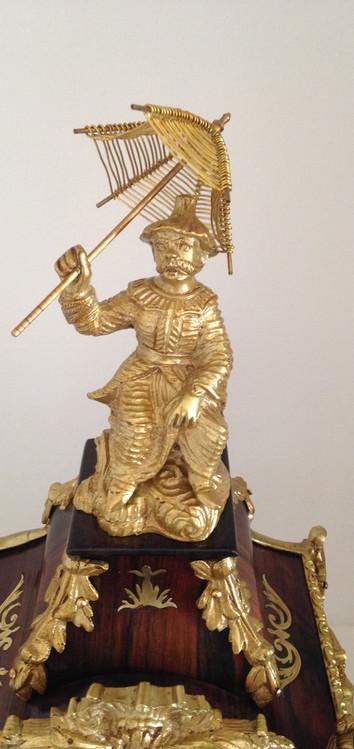 Raingo Freres Louis XV Style Mantel Clock