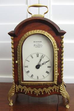 George III twin fusee bracket clock