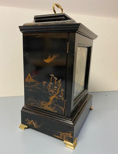 George III Style Chinoiserie Clock