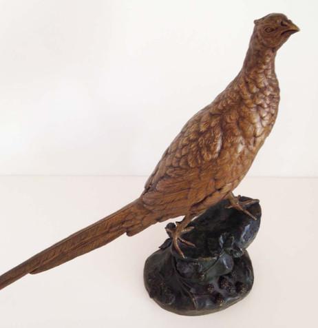 Leon Bureau (French) Bronze Pheasant