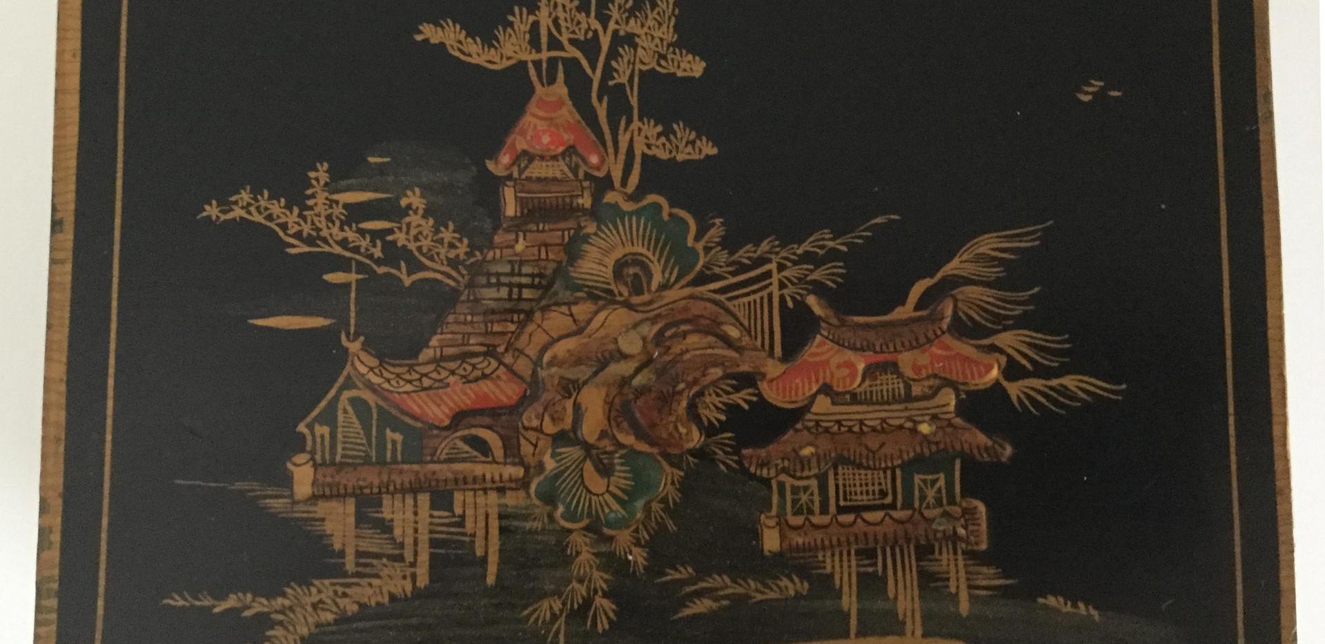 Chinoiserie Mantel Clock
